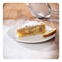 Apfelkuchen mit Streuseln    Ø26cm   Stück   vegan