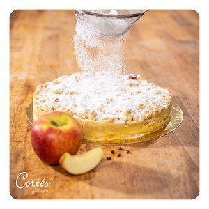 Apfelkuchen mit Streuseln |  vegan
