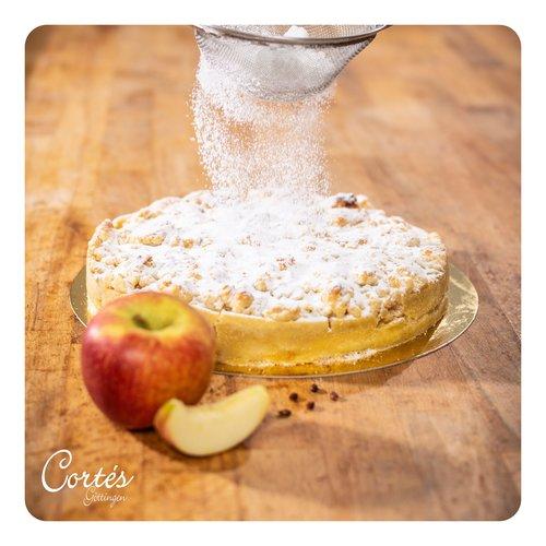 Apfelkuchen mit Streuseln |  Ø26cm | vegan