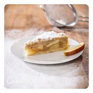 Apfelkuchen mit Streuseln | Stk | vegan
