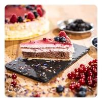 Himbeer Waldfrucht Torte  | Stück