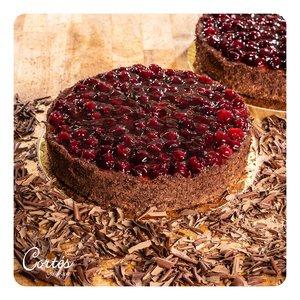 Kirsch Schoko Crisp Torte