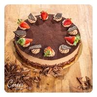 Konditorei Café Cortés Mousse au Chocolat Torte | groß