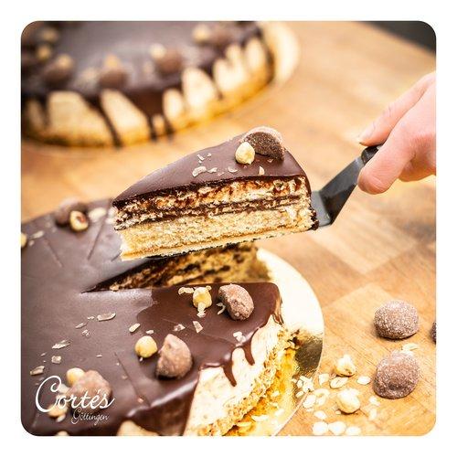 Nuss Nougat Torte | Ø26cm | Ø18 cm | Stück