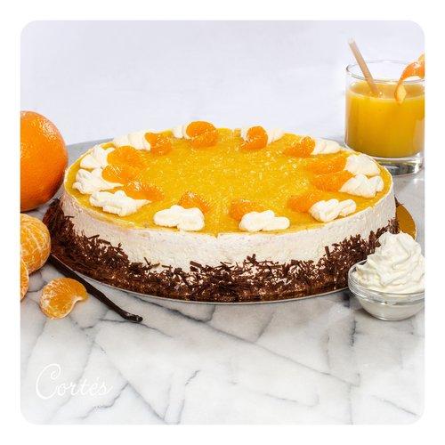 Orangen Mousse Torte | Stück