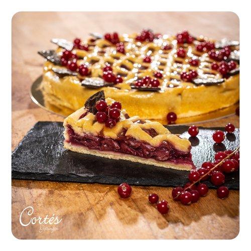 Sauerkirsch-Kuchen | vegan | Ø26cm | Stück
