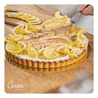Zitronen Tarte mit Baiser   Stück