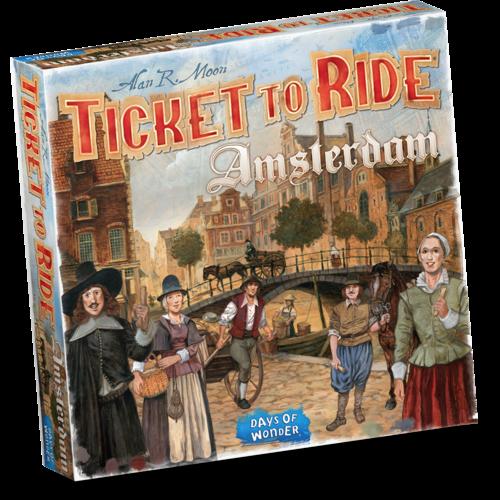 Days of Wonder Ticket to Ride NL- Amsterdam