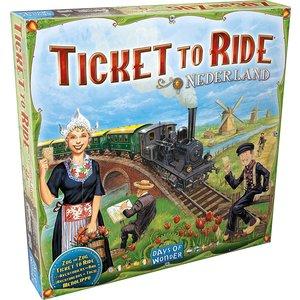 Days of Wonder Ticket to Ride- Nederland exp.