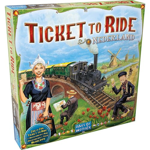 Days of Wonder Ticket to Ride- Nederland exp.