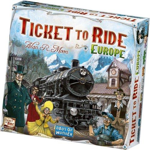 Days of Wonder Ticket to Ride ENG- Europe