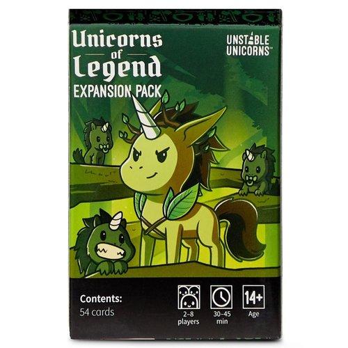 Unstable Games Unstable Unicorns- Unicorns of Legend exp.