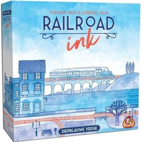 WGG Railroad Ink NL- Diepblauwe Versie
