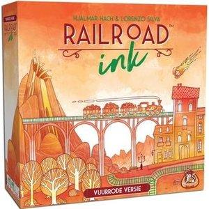 WGG Railroad Ink NL- Vuurrode Versie