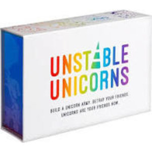 Unstable Games Unstable Unicorns