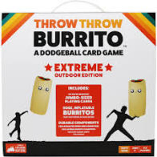 - Throw Throw Burrito ENG- Extreme Outdoor Edition