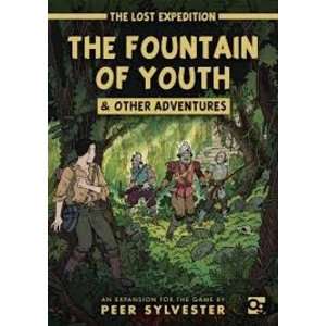 Osprey The Lost Expedition - Fountain of Youth Expansion