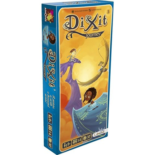 Asmodee Dixit Expansion 3- Journey