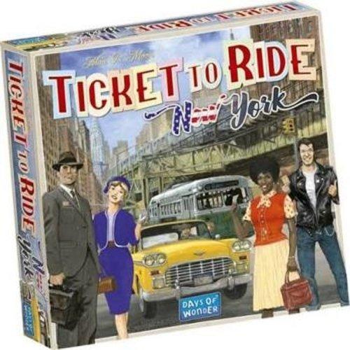 Days of Wonder Ticket to Ride NL- New York