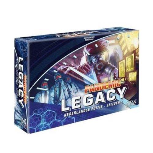 Z-Man Games PREORDER- Pandemic NL- Legacy Season 1 Blue (JUNI 2021)