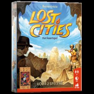 999 Games Lost Cities- Het Kaartspel