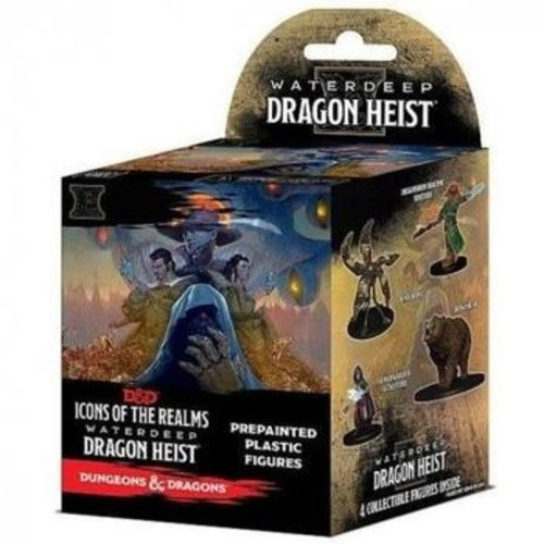 Wizk!ds D&D Icons of the Realms- Waterdeep Dragon Heist Booster