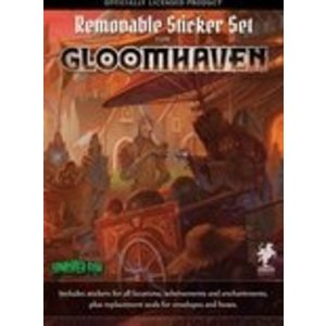 Cephalofair Games Gloomhaven- Removable Sticker Set