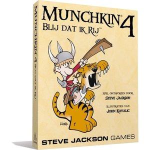Steve Jackson Games Munchkin NL 4 - Blij Dat Ik Rij