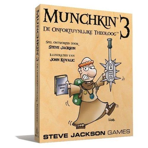 Steve Jackson Games Munchkin NL 3 - De Onfortuinlijke Theoloog