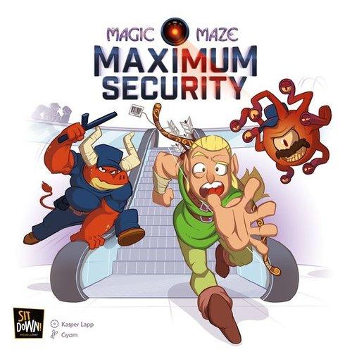 Sit down! games Magic Maze- Maximum Security exp.