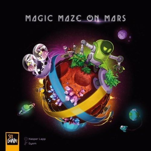 Sit down! games Magic Maze on Mars