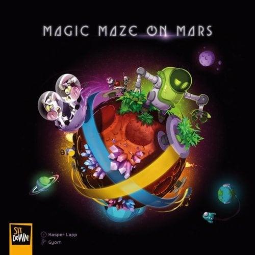 Sit down! games Magic Maze on Mars