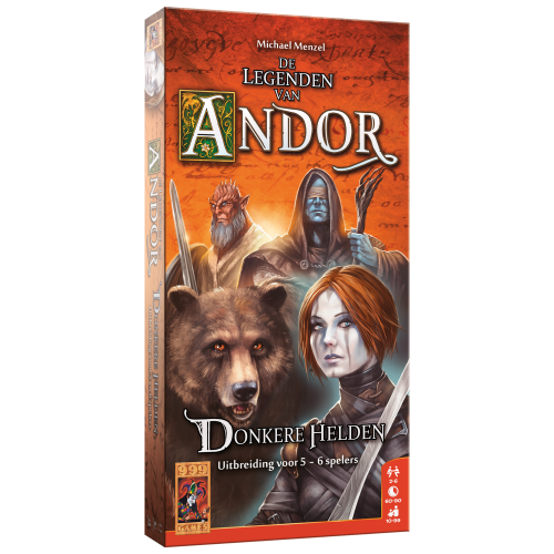 999 Games De Legenden van Andor- Donkere Helden 5/6