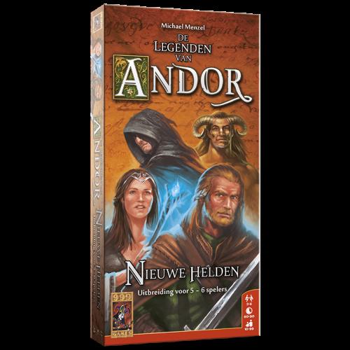 999 Games De Legenden van Andor: nieuwe Helden 5/6