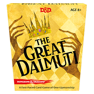 Wizards of the Coast D&D The Great Dalmuti Cardgame