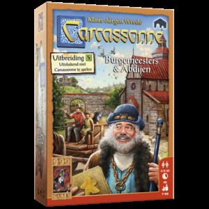 999 Games Carcassonne- Burgemeesters en Abdijen exp.