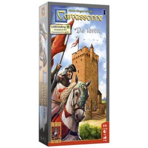 999 Games Carcassonne- De Toren exp.