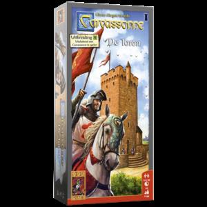 999 Games Carcassonne- De Toren uitbreiding
