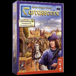 999 Games Carcassonne- Graaf, Koning en Consorten uitbreiding