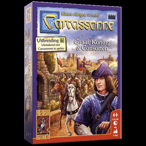 999 Games Carcassonne- Graaf, Koning en Consorten exp.
