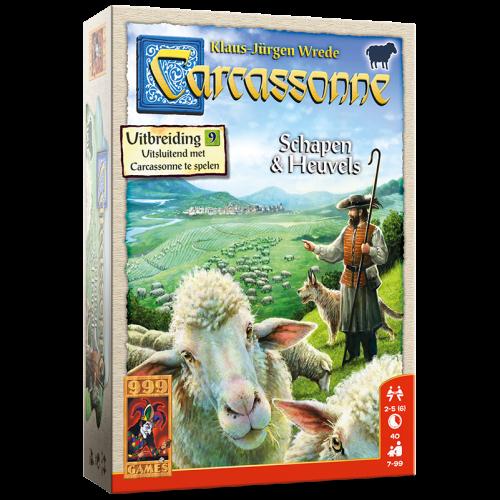 999 Games Carcassonne- Schapen & Heuvels exp.
