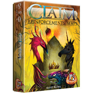 White Goblin Games Claim- Reinforcements Maps
