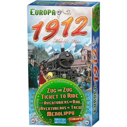 Days of Wonder Ticket to Ride- Europe 1912 exp.