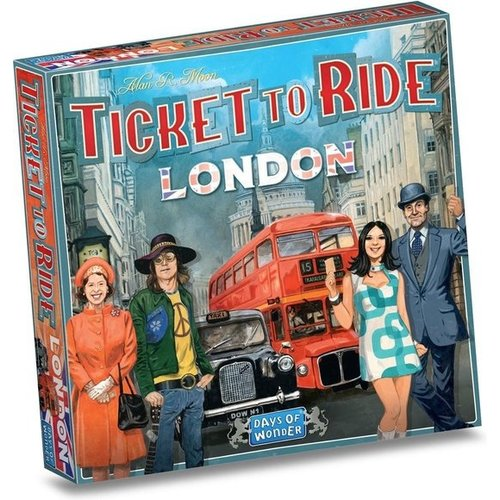 Days of Wonder Ticket to Ride NL- London