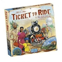 Ticket To Ride- India & Switzerland exp.