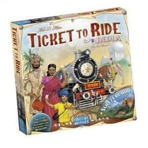 Days of Wonder Ticket To Ride- India & Switzerland exp.