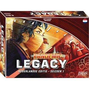 Z-Man Games PREORDER- Pandemic NL- Legacy Season 1 Red (JULI 2021)