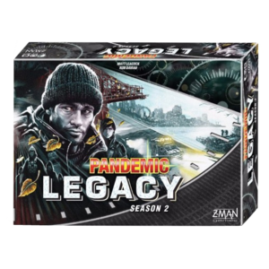 Z-Man Games Pandemic NL- Legacy Season 2 Black