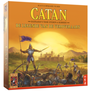 999 Games Catan- De Legende van de Veroveraars