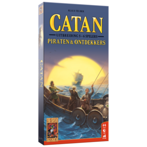 999 Games Catan- Piraten & Ontdekkers 5/6 Spelers